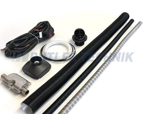 vehicle heater exhaust kit