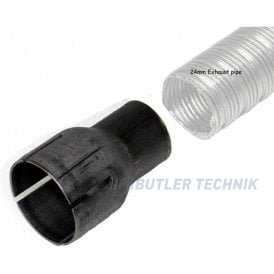 Eberspacher 30mm to 24mm exhaust reducer | 221050890002