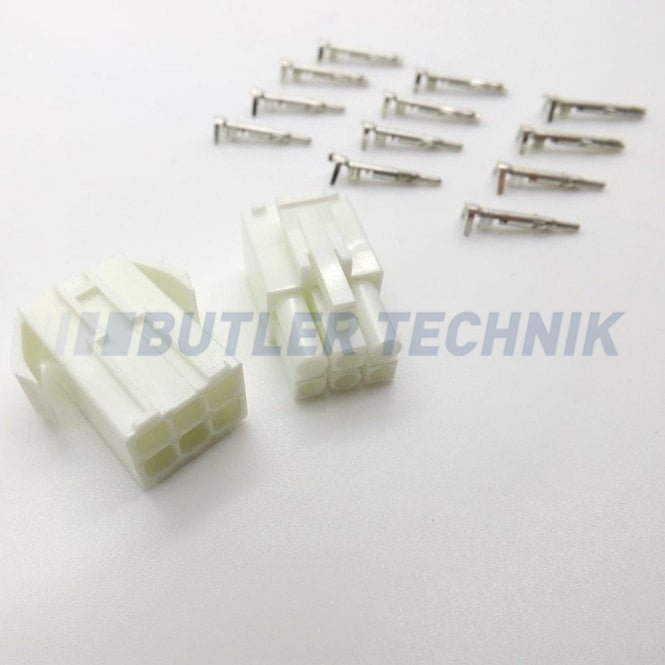 Eberspacher 701 timer 6 way white plug kit and terminals