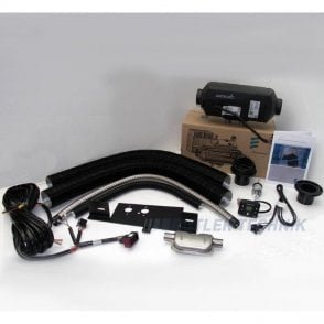 Eberspacher Airtronic D2 VW T5 external mount heater kit | 292199018351