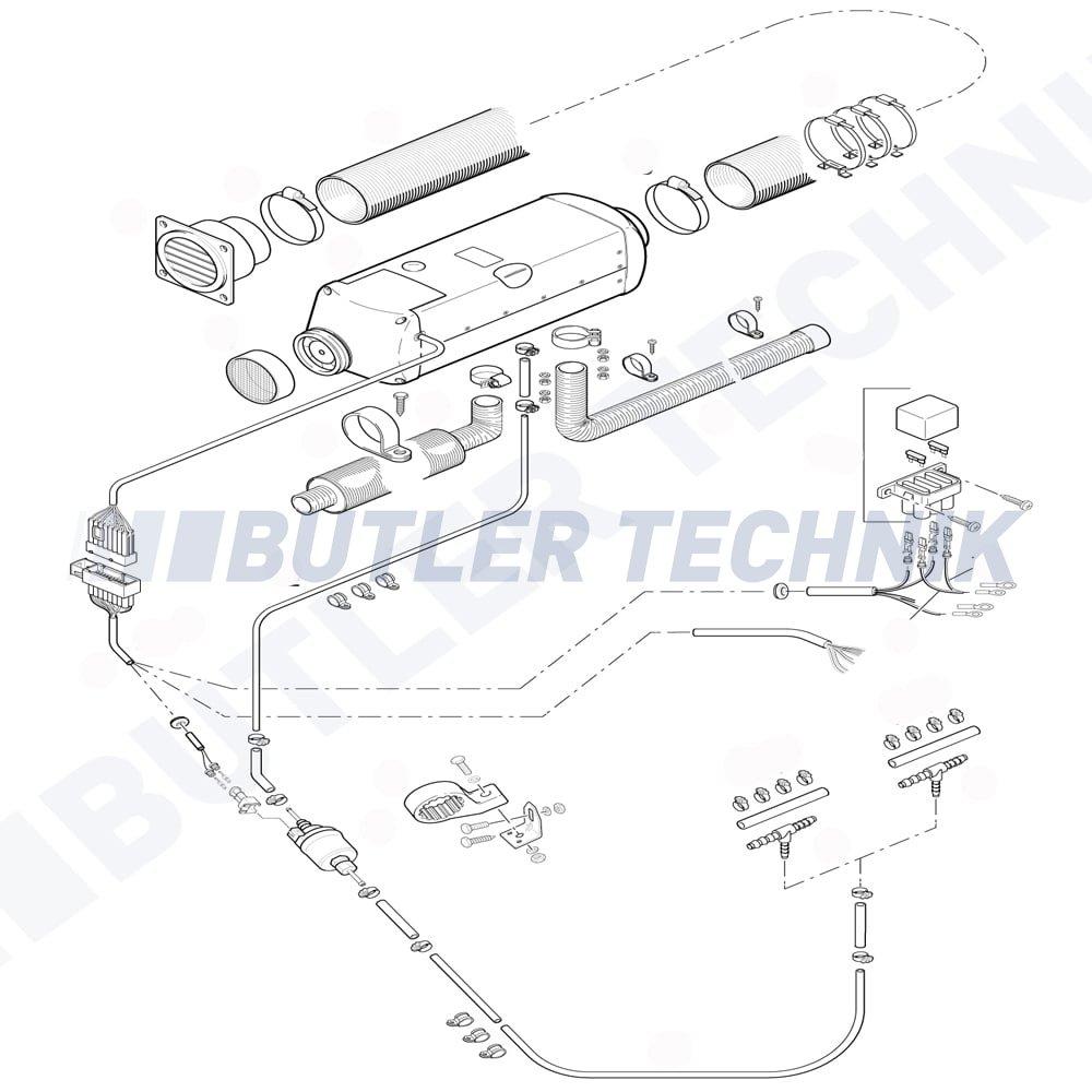 eberspacher airtronic heater d5