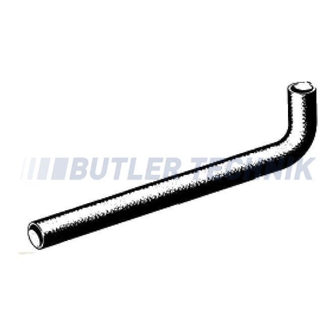 Eberspacher D1L and B1L Combustion Air Pipe | 201575800001