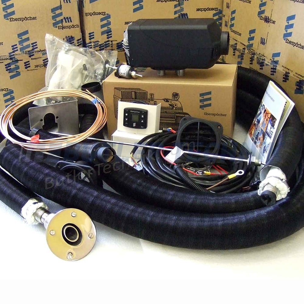 Eberspacher D2 Airtronic Marine Heater Single Outlet E6438 Espar Wiring Diagram 12v Kit 292199016438