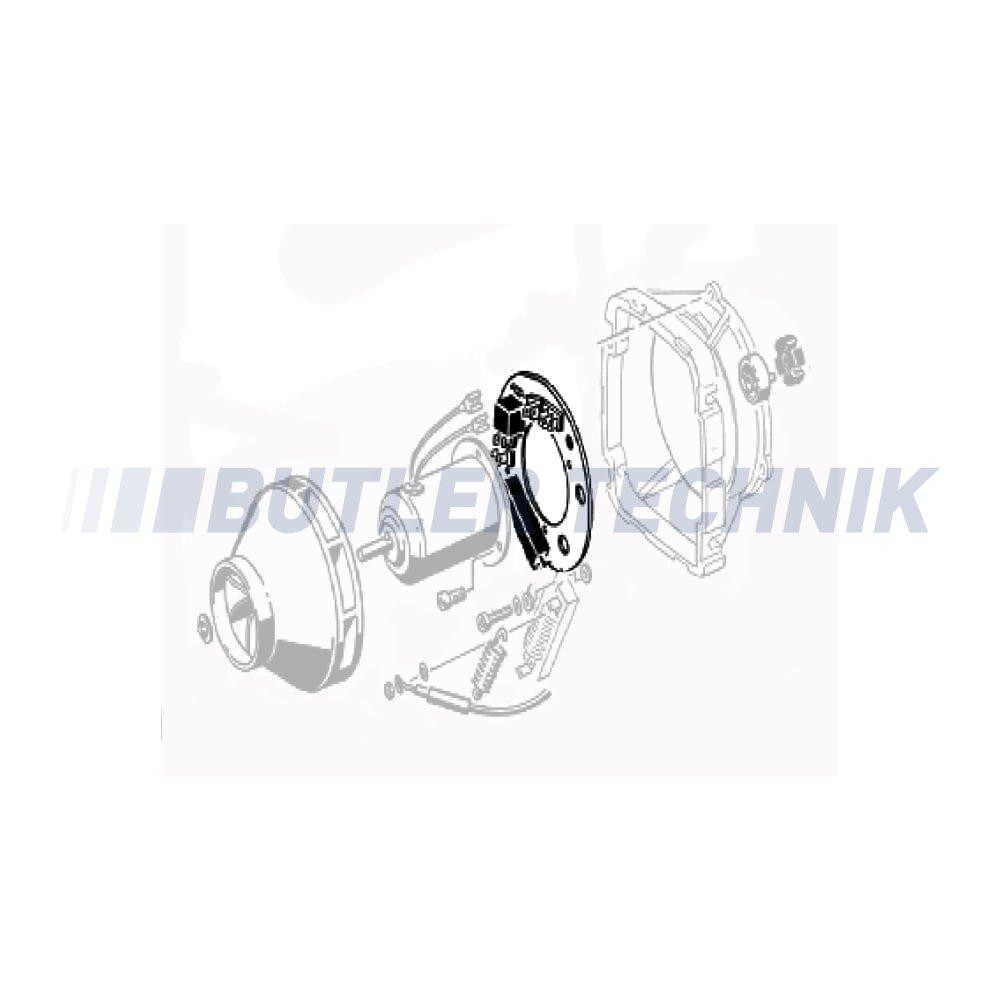 Eberspacher D3l Heater Pcb Circuit Board Ecu 24v 251641010400 Repair And Diagnostic Of Electronic Stock Photo
