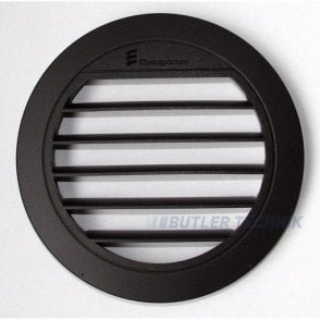 Eberspacher ducting air outlet 90 or 75mm ducting angled louvre | 221000010052