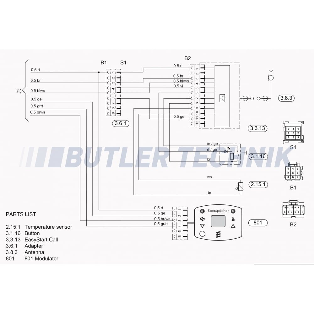 Eberspacher Wiring Diagram D1lc - Somurich.com on