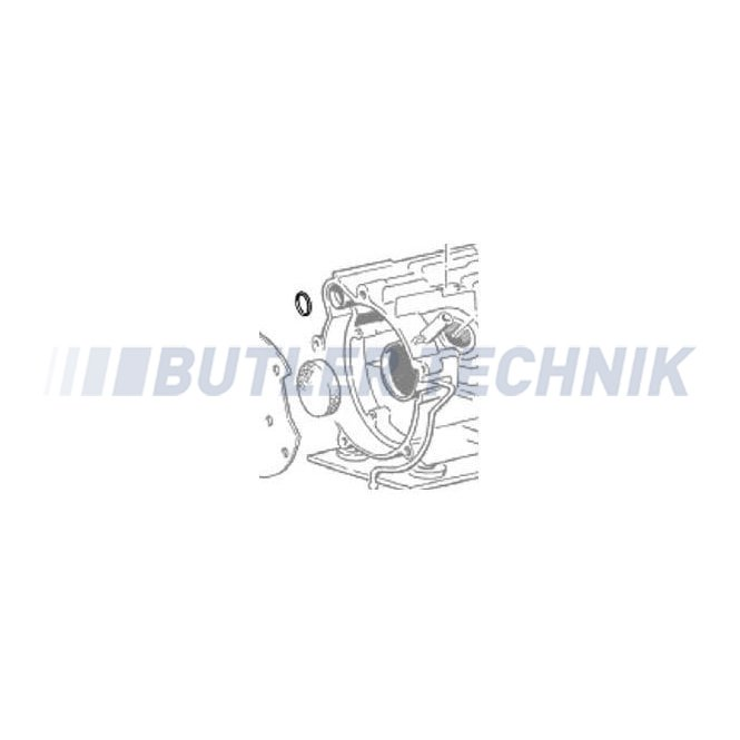 Eberspacher Heater O-Ring D5LC | 32075166