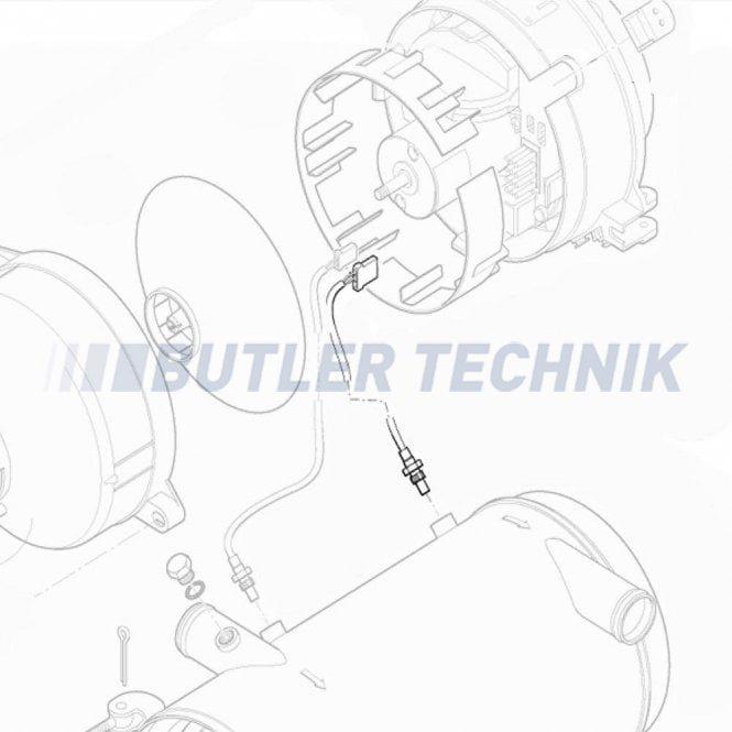 Eberspacher Hydronic 30 Safety Cutout Sensor