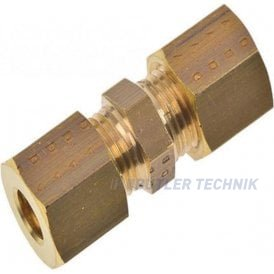 Eberspacher M6 to M4 Straight Compression Fitting | 17019
