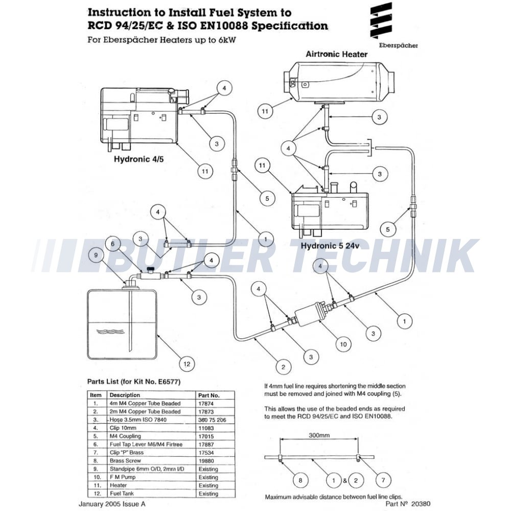 eberspacher marine heater fuel pipe kit 292199016640 p1947 3914_image eberspacher d3l wiring diagram wiring diagram and schematic design eberspacher hydronic wiring diagram at creativeand.co