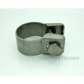 Eberspacher or Webasto Exhaust Clamp for 24mm exhaust | 20965A