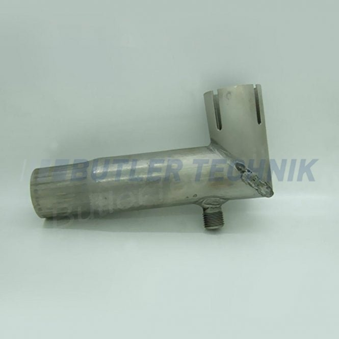 Eberspacher or Webasto exhaust elbow 24mm with condensate connection | 251226894500