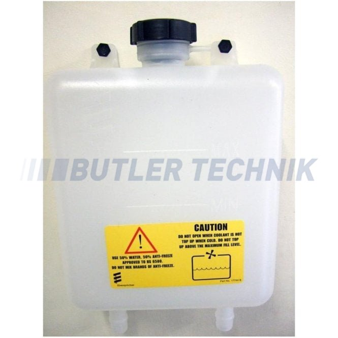 Eberspacher or Webasto water heater expansion tank 5 litre 2 Outlet