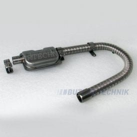 Eberspacher or Webasto heater exhaust 24mm Silencer Kit