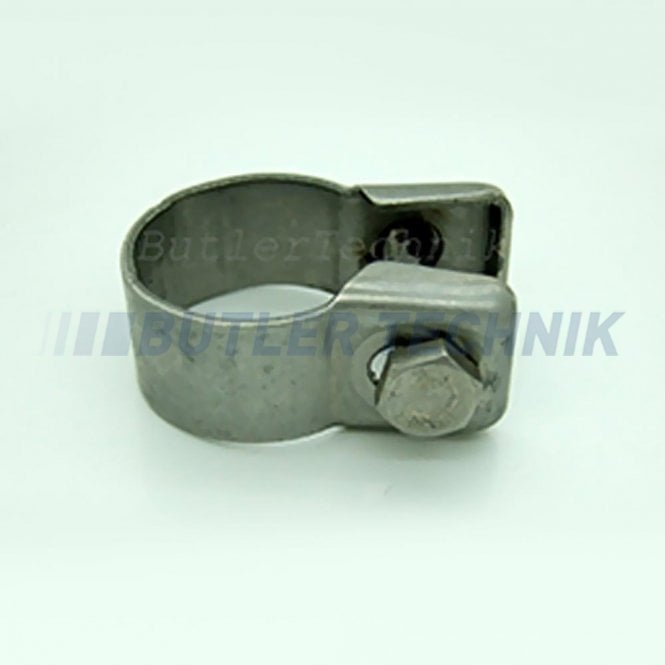 Eberspacher or Webasto Heater exhaust clamp for 24mm or 22mm exhaust | 15261102 | 91383B