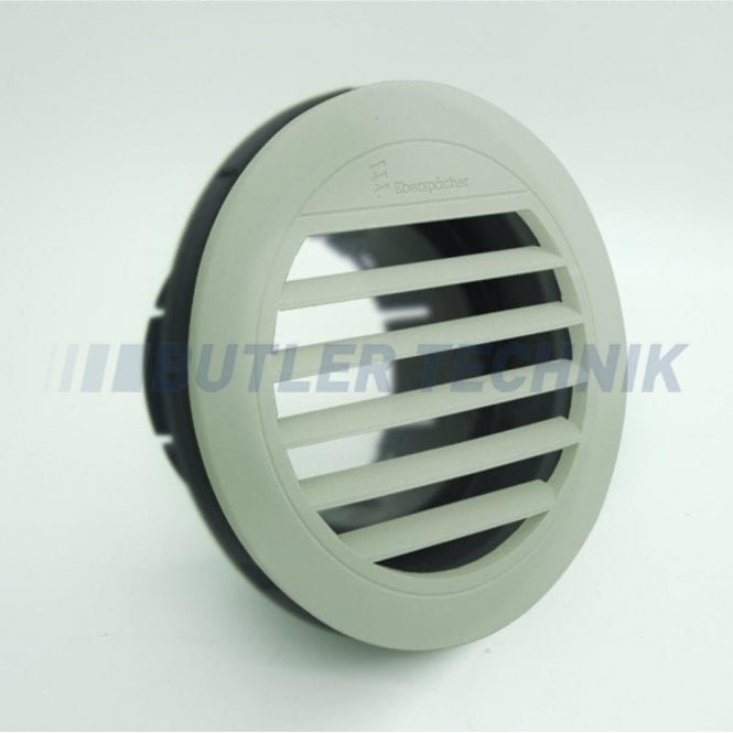 Eberspacher or Webasto heater rotating air outlet fascia white 75mm or 90mm ducting | 221000010053