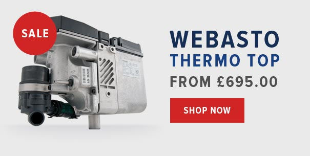 Webasto Thermo Top From £695.00 - Shop Now