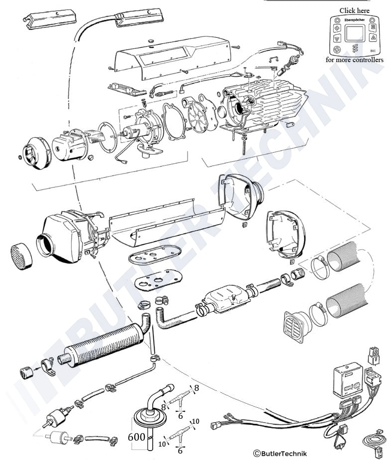 Eberspacher D5lc Parts