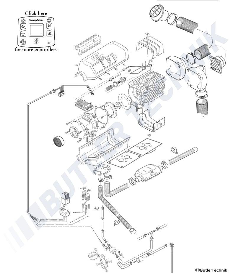 eberspacher d3 wiring diagram   29 wiring diagram images