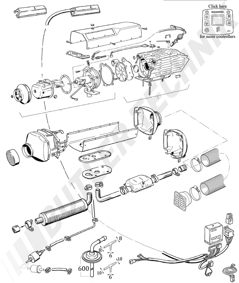 Eberspacher D5l Parts