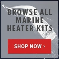 Webasto and Eberspacher marine heater kits
