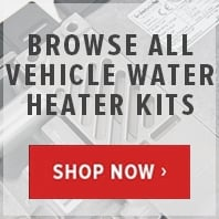 Webasto and Eberspacher vehicle water heater kits