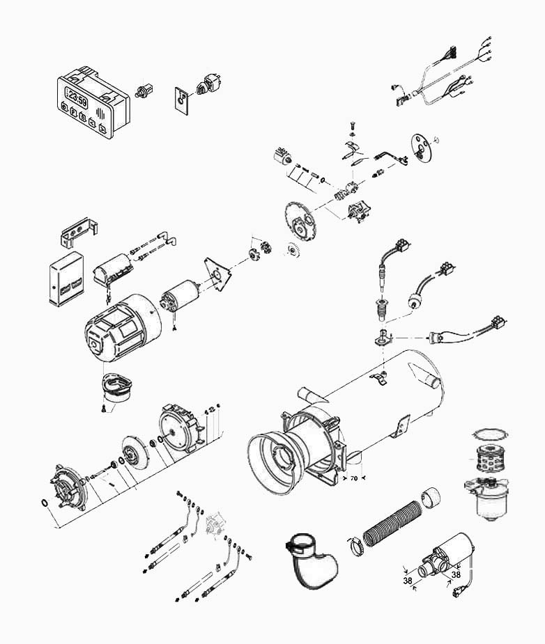 Webasto Sunroof Parts Diagram Com