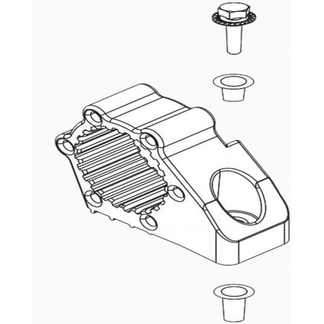 Webasto Mounting Parts for Circulating Pump | 9027035A