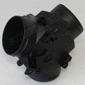 Webasto or Eberspacher 60mm duct Y branch variable flap valve | 1320352A | 9009642A | 33000174