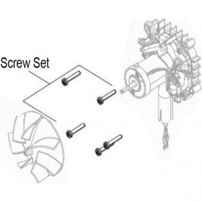 Webasto Air Top 2000ST/STC Motor Screw Set | 1303327A