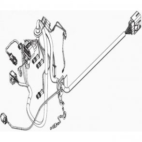 Webasto Dual Top Internal Wiring Harness | 9019411B