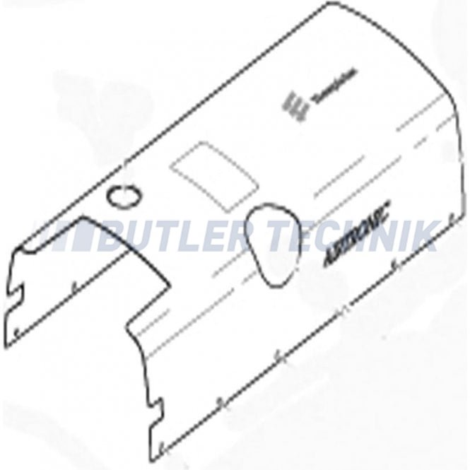Eberspacher Upper Casing - Airtronic D5 | 252361010002