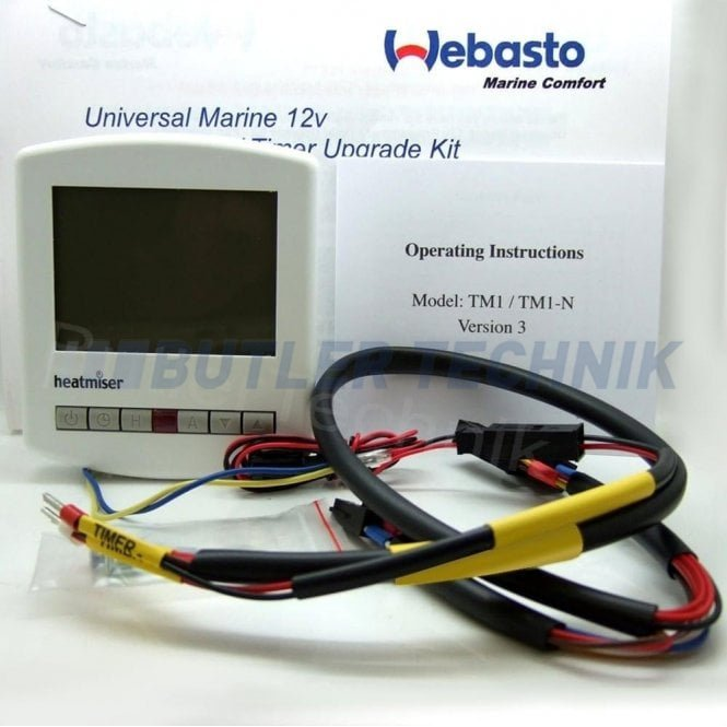 Webasto 7 Day Marine Timer Programmer Thermo Top Water Heater 12v | 4110551A