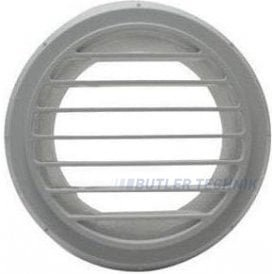 Webasto Air Outlet 90mm for 90mm ducting White | 9012289A