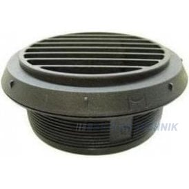 Webasto Air Outlet for 90mm ducting Black | 9012288A | 1320932A