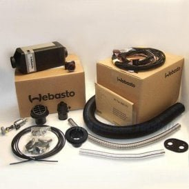 Webasto Air Top 2000 STC diesel EURO heater and install kit 12v