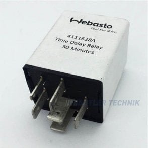 Webasto Air Top 2000ST Time Delay Relay 30min 24v | 4111638A