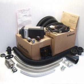 Webasto Air Top 2000STC Universal heater kit 12v Twin outlet