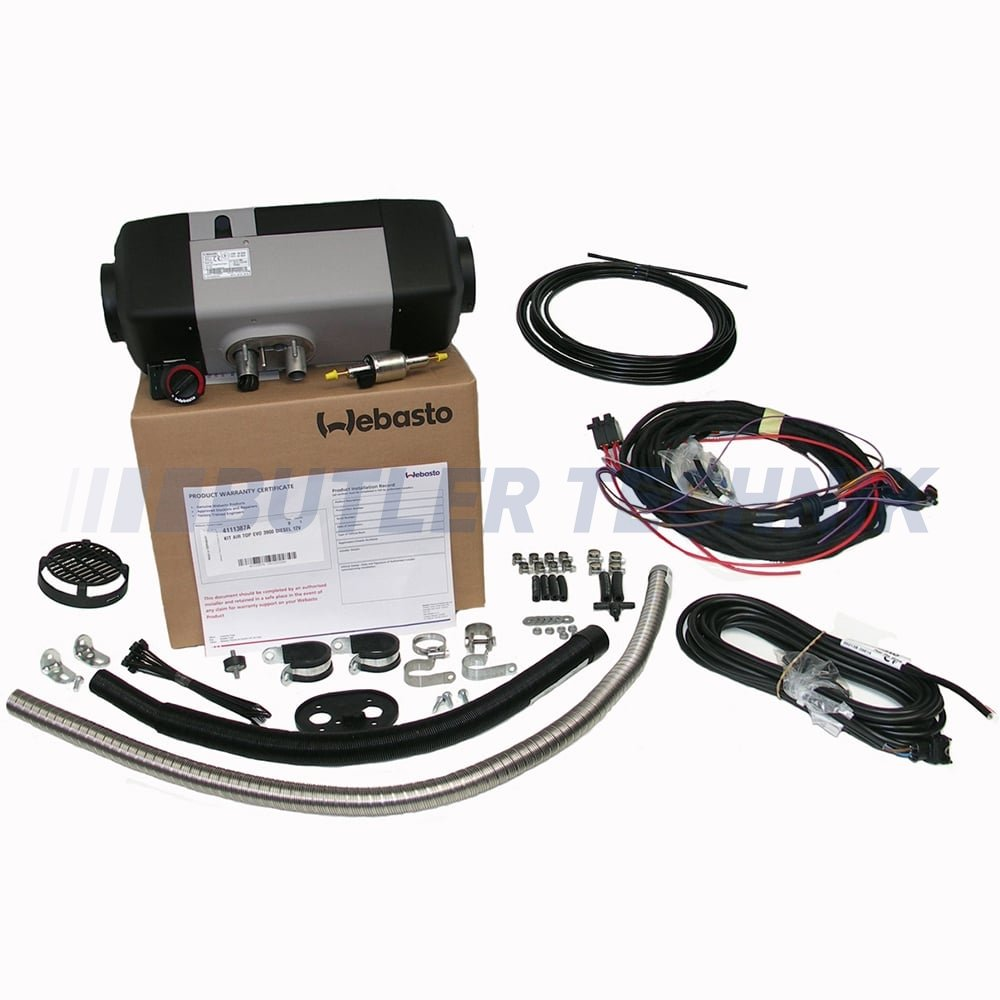 webasto air top evo 40 diesel 12v 4kw universal heater kit