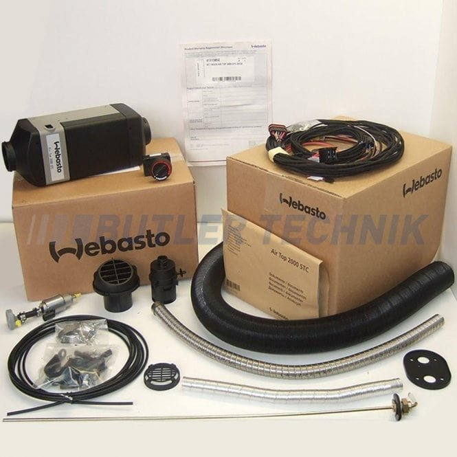 Webasto Air Top Heater 2000STC 24v Kit | 4111386B | 9032229A