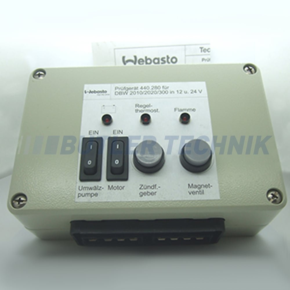 Water Heater Box Webasto Dbw Water Heater Diagnostic Test Box Unit 440280