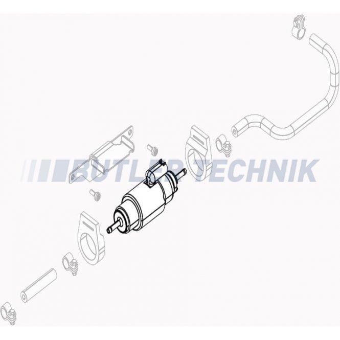 Webasto Dual Top Fuel Pump 12v