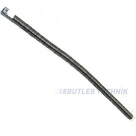 Webasto Exhaust pipe 22mm 700mm long with embelisher