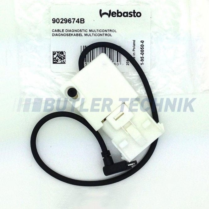 Webasto heater test cable for Smart controller & HD controller | 9029674A