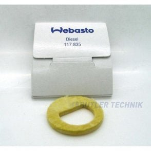 Webasto HL32 Burner fleece matting | 1319261A | 117835