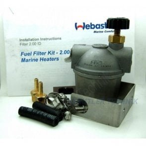 Webasto Marine heater Fuel Filter with fuel tap shut off | 4110766A