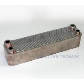 Webasto Motor Home & Marine Plate Heat Exchanger with drain | 4116804A