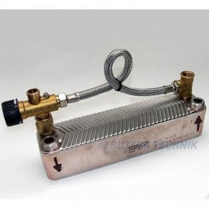 Webasto Motor Home Plate Heat Exchanger with Mixer Valve | 4111209A
