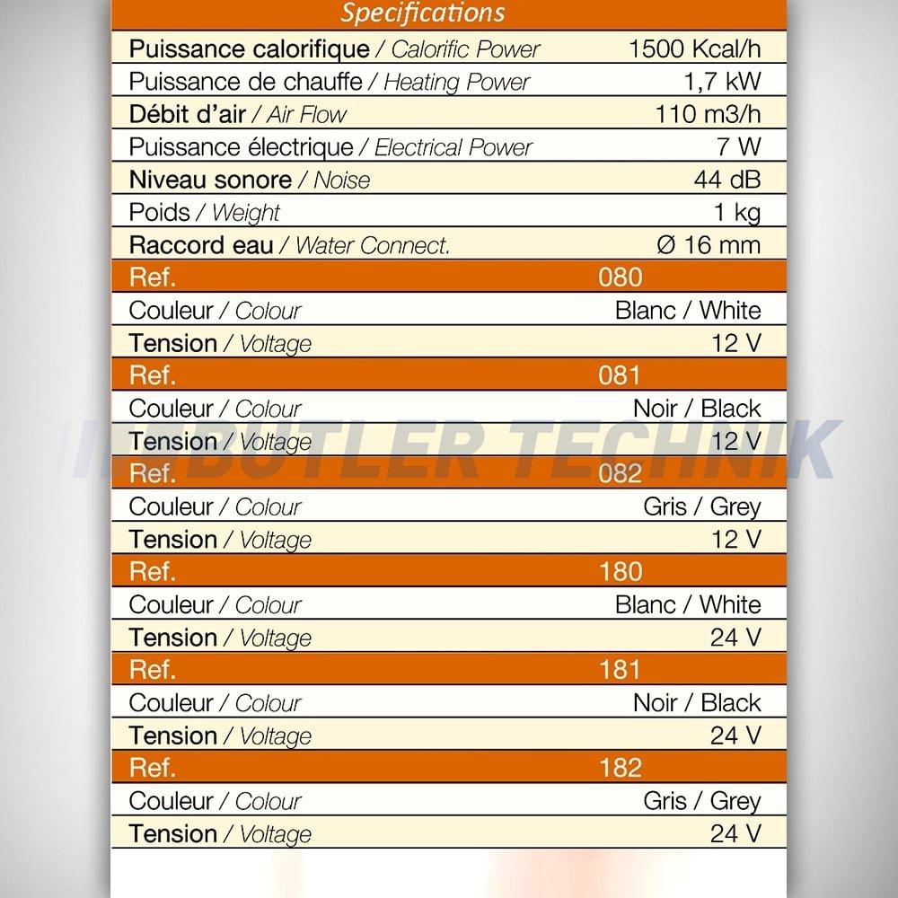 Webasto Or Eberspacher Water Heater Exchanger Matrix 12v Silencio 12 Valve Mins Fuel Wiring Diagram 17kw 12014081