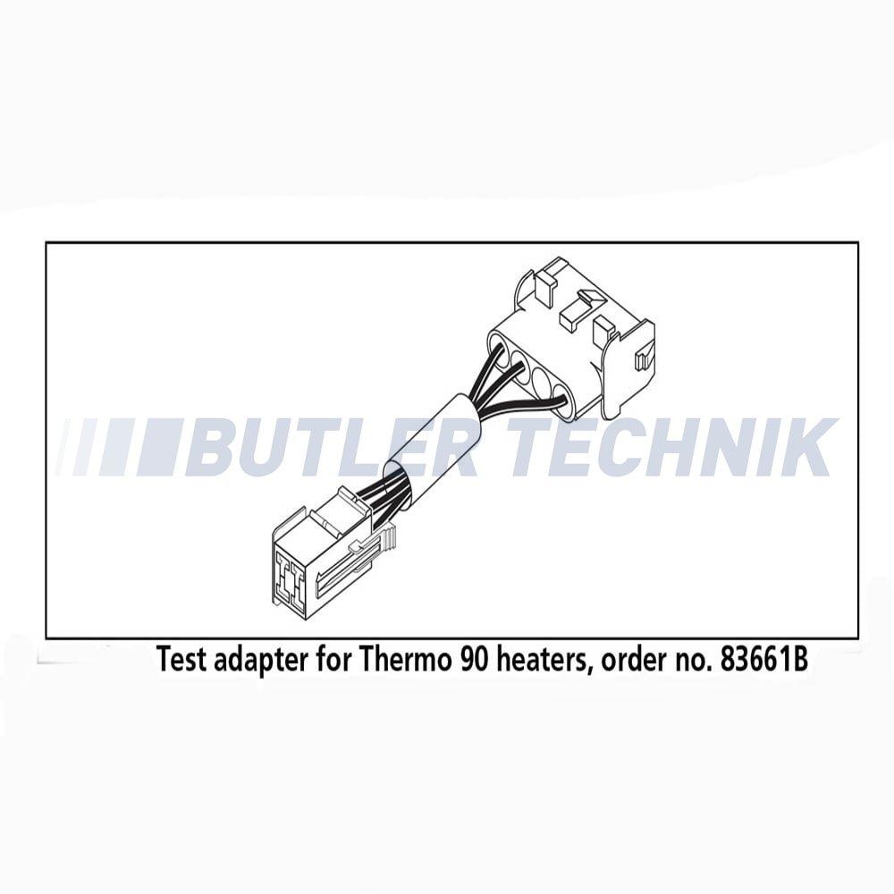 webasto thermo 90 diagnostic test harness 83661a 1320168a. Black Bedroom Furniture Sets. Home Design Ideas